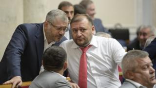 Михайло Добкін та Олександр Вілкул