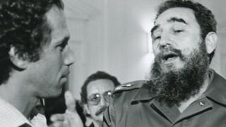Jon Alpert y Fidel Castro (Foto: Jon Alpert / Keiko Tsuno)