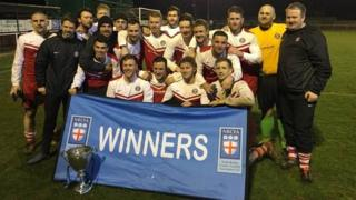 Boro Rangers - current holders of the Saturday County Cup