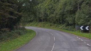 A487 in Pantperthog, near Machynlleth