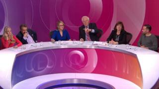 Isabel Oakeshott, Robert Winston, Rebecca Long-Bailey, David Dimbleby, Nicky Morgan and Geoff Norcott