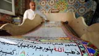 Mısırlı hattat Saad Muhammed