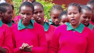 کینیا میں فٹبال گرلز