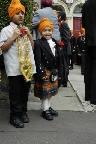 Edinburgh Sikh tartan
