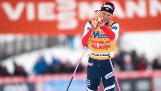 Johannes Hoesflot Klaebo vainqueur de la coupe du monde de ski de fond.