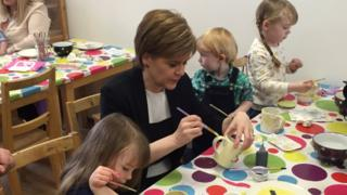 Sturgeon painting
