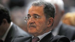 Former prime minister and European Commission ex-President Romano Prodi