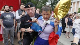 Задержания на марше