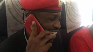 Mwanasiasa wa upinzani nchini Uganda Bobi Wine