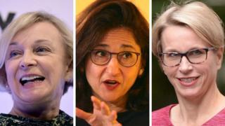 Dame Moya Greene, Dame Minouche Shafik, Emma Walmsley