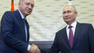 Путин менен Эрдоган