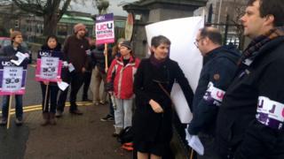 UCU Scotland strike
