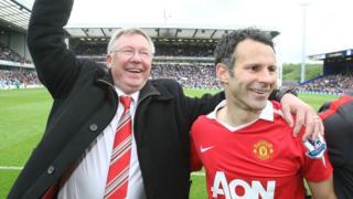 Sir Alex Ferguson na Ryan Giggs