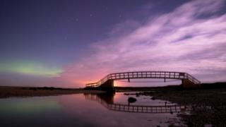 Aurora Borealis over Dunbar