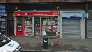 usave store on Dumbarton Road