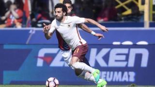 L'Égyptien âgé de 25 ans, ancien ailier de Chelsea, s'est engagé pour un contrat de cinq ans.