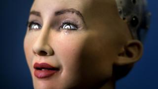 Sophia di robot