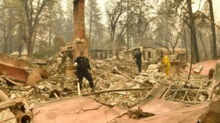 Град Парадајз потпуно је уништен у пожару