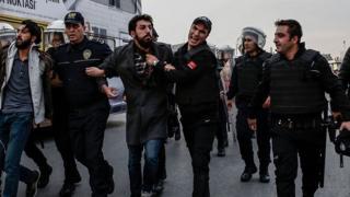 арест в Турции