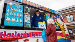 converted ice cream van