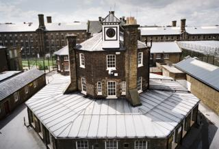 General view of administration building, HMP Brixton, London