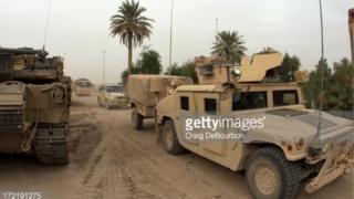 Jerin gwanon tankokin yaki a Mosul
