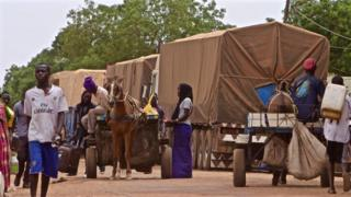 Senegal-Gambia border
