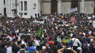 Cezayir'deki protesto