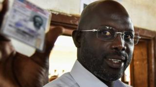George Weah ayaa seneter ka ah deegaanka Montserrado ee dalka Liberia