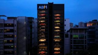 máquina de vending en Singapur de ABM