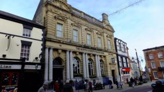 North and South Wales Bank in Wrexham