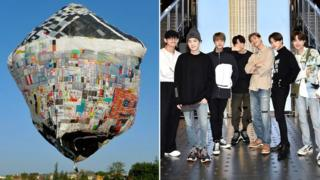 BTS will flit a balloon from London to Seoul thumbnail