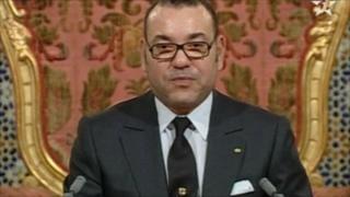 Mfalme wa Morocco Mohammed wa Sita