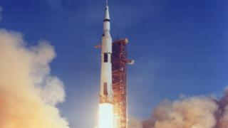 Apollo 11 lifted off