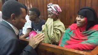 Hania Rogo na wakili wake Aboubakar Yusuf kortini 2016