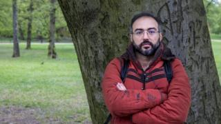 Author and blogger, Iyad el-Baghdadi, photographed in Oslo, Norway, on 7 May 2019.