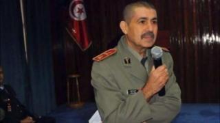 El coronel Fathi Bayoudh