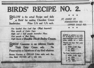 Birds recipe