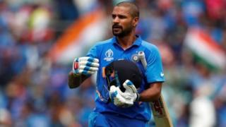 शिखर धवन, भारत, वर्ल्ड कप 2019