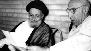 محمد مصدق و ابوالقاسم کاشانی