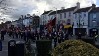 Apprentice Boys of Derry march in Lurgan