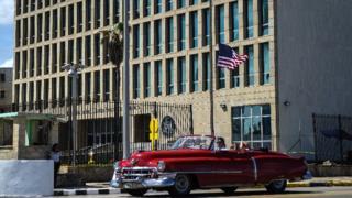 Embajada de Estados Unidos en Cuba.