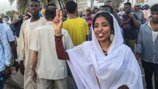 Alaa Salah, the 22-year-old student who became a protest icon
