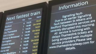 Thameslink signs