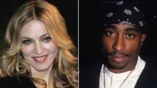 Madonna et Tupac Shakur ont longtemps entretenu une liaison secrète arrêtée en 1995