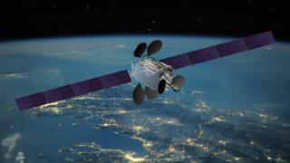 Intelsat satellite - file pic