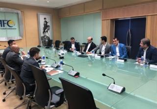 جلسه نمایندگان ایران با دبیرکل AFC