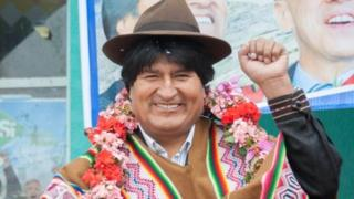 Bolivia's President Evo Morales poses during a ceremony marking the anniversary of Curva town in La Paz Department, Bolivia, May 13, 2016.