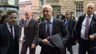 Craig Whyte, Charles Green, David Grer, David Whitehouse and Paul Clark