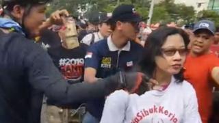 Video dugaan perisakan tersebut terjadi pada acara Car Free Day yang berlangsung di sekitar kawasan Thamrin-Sudirman, Jakarta, pada Minggu (29/4).